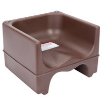 Cambro 200BC131 Plastic Booster Seat - Dual Seat - Brown