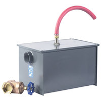 Watts WD-10-A 20 lb. Grease Trap with Partially Automatic Draw-Off