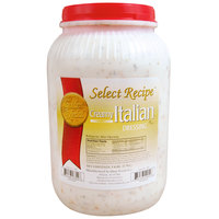 Creamy Italian Dressing - (4) 1 Gallon Containers / Case