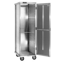 Cres Cor 150-1840D 40 Pan End Load Enclosed Non-Insulated Bun / Sheet Pan Rack with Extruded Slides - Assembled