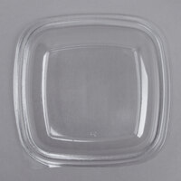 Sabert 52800B300 Bowl2 Clear Dome Lid for 24, 32, and 48 oz. Square Bowls - 300/Case