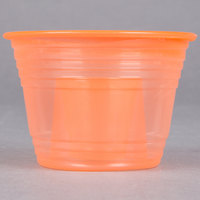 Fineline Quenchers 4112-ORG Blaster Bomb Shot Cups / Power Bombs Neon Orange - 25 / Pack