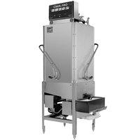 CMA Dishmachines CMA-180TC Single Rack High Temperature Tall Corner Dishwasher with Booster Heater - 208/240V, 3 Phase