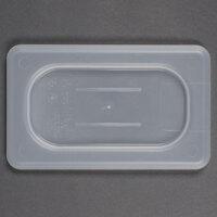 Cambro 90PPC Translucent 1/9 Size Polypropylene Flat Lid