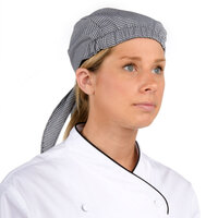 Chef Revival H020HT Houndstooth Chef Head Wrap