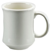 American White (Ivory / Eggshell) Bell Shaped 7 oz. China Coffee Mug - 36 / Case