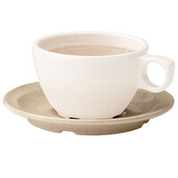 GET BAM-1002 BambooMel 5 3/4 inch Saucer for BAM-1001 Ovide Cappuccino Cup - 48/Case