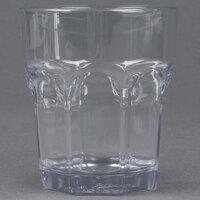 Carlisle 581207 Louis 12 oz. Clear Plastic Rocks Glass - 24 / Case