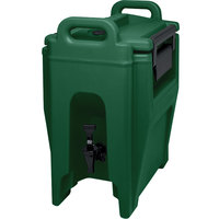 Cambro UC250519 Green Ultra Camtainer 2.75 Gallon Insulated Beverage Dispenser
