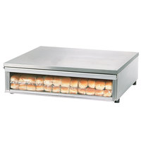 Star SS30BBC Stainless Steel Bun Box with Clear Door Holds 48 Hot Dog Buns