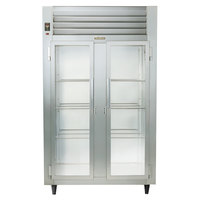 Traulsen RHT232NUT-FHG Stainless Steel 46 Cu. Ft. Two Section Glass Door Narrow Reach In Refrigerator - Specification Line