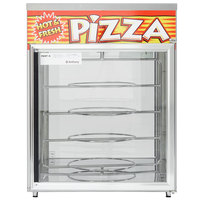 APW Wyott HDC-4P Pass-Through Heated Display Case with Four 18 inch Pizza Racks - 120V