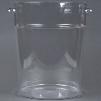 22 Qt. Clear Round Food Storage Container