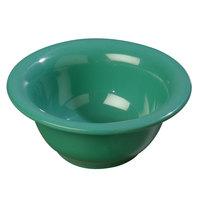 Carlisle 4303809 Durus 10 oz. Rimmed Meadow Green Melamine Nappie Bowl - 24/Case