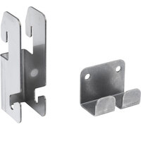 Metro SWGB1 Smartwall G3 Stainless Steel Grid Mounting Bracket Kit for Wall Track