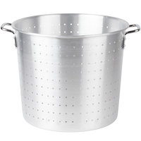 48 Qt. Tapered Aluminum Vegetable Colander with Handles