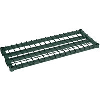 Metro 1836DRK3 36 inch x 18 inch Metroseal 3 Heavy Duty Dunnage Shelf with Wire Mat - 1600 lb. Capacity