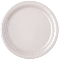 Carlisle 4300471 Durus 9 inch Sand Narrow Rim Melamine Plate - 24/Case