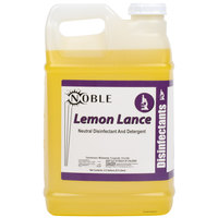 Noble Chemical 2.5 Gallon Lemon Lance Lemon Disinfectant & Detergent Cleaner - Ecolab® 14522 Alternative - 2 / Case