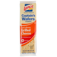 Lance Captain's Wafers Grilled Cheese Sandwich Crackers 20 Count Box - 6 / Case