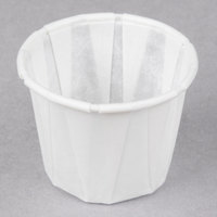 Genpak F075 .75 oz. Harvest Paper Souffle / Portion Cup - 5000/Case