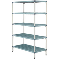 Metro 5AQ427G3 MetroMax Q Shelving Add On Unit - 21 inch x 30 inch x 74 inch