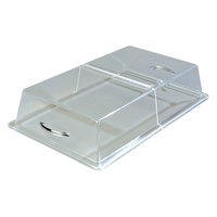 Carlisle SC2907 12 inch x 20 inch x 4 inch Rectangular Hinged Pastry Tray Cover