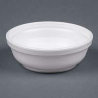 Dart Solo 6B20 6 oz. Insulated White Foam Bowl - 1000/Case