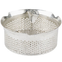 Tellier M5040 5/32 inch Perforated Replacement Sieve for # 5 Food Mill - Tin-Plated Steel