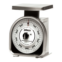 Rubbermaid Pelouze YG1000R 1000 Gram Mechanical Portion Control Scale - Metric (FGYG1000R)