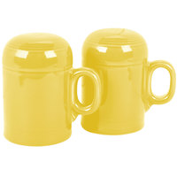 Homer Laughlin 756320 Fiesta Sunflower Rangetop Salt and Pepper Shaker Set - 4/Case