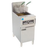 Frymaster PH155-BL Natural Gas High Efficiency Fryer 50 lb. with Basket Lift - 80,000 BTU