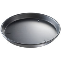 Chicago Metallic 91140 14 inch x 1 1/2 inch Deep Dish Hard Coat Anodized Aluminum Pizza Pan