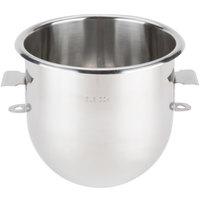 Avantco MX10BOWL 10 Qt. 304 Stainless Steel Mixing Bowl