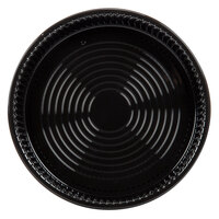 WNA Comet ADEEP518BL CaterLine Casuals Black 18 inch Deep Tray / Platter 25 / Pack
