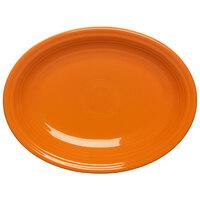 Homer Laughlin 457325 Fiesta Tangerine 11 5/8 inch Platter - 12 / Case