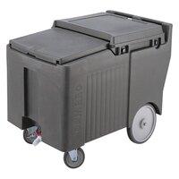 Cambro ICS175LB180 Light Gray Sliding Lid Portable Ice Bin - 175 lb. Capacity