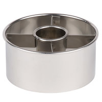 Ateco 14423 3 1/2 inch Stainless Steel Doughnut Cutter (August Thomsen)