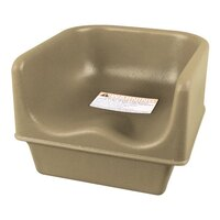 Cambro 100BC Beige Single Height Booster Seat