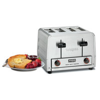 Waring WCT815 Heavy Duty Combination Toaster and Bagel Toaster 4 Slice - 240V