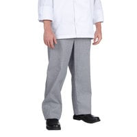 Chef Revival P034HT Size 2X Houndstooth Chef Trousers - Poly-Cotton