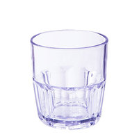 GET 9909-1-BL 9 oz. Blue Break-Resistant Plastic Bahama Tumbler - 72/Case
