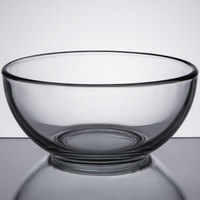 Libbey 1789268 Moderno 6 inch Glass Cereal Bowl - 12 / Case