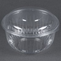 Dart Solo C48BCD PresentaBowls 48 oz. Clear Plastic Bowl with Dome Lid - 126/Case