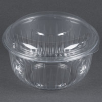 Dart Solo C48BCD PresentaBowls 48 oz. Clear Plastic Bowl with Dome Lid - 126 / Case