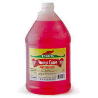 Fox's Watermelon Snow Cone Syrup 4 - 1 Gallon Containers / Case