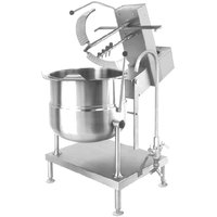 Cleveland MKDT-20-T 20 Gallon Tilting 2/3 Steam Jacketed Direct Steam Mixer Kettle