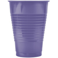Creative Converting 28115071 12 oz. Purple Plastic Cup - 240 / Case