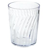 GET 2206 6 oz. SAN Clear Plastic Tahiti Tumbler 72 / Case
