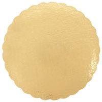 Southern Champion 1635 16 inch Cake Circle Gold Laminated Corrugated - 50/Case